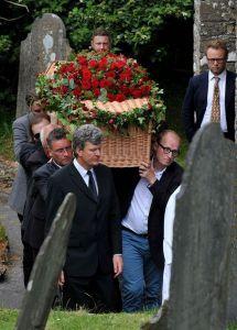 на похороны актера пришли только близкие родственники
