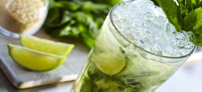 Alkoholowy koktajl mojito