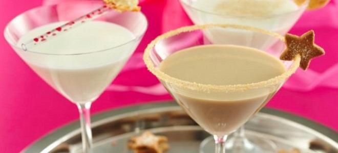 koktajl alkoholowy mleczny