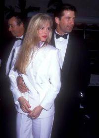 Алек Болдуин с первой женой Ким