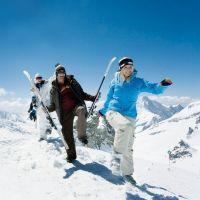 Ски спускане за начинаещи