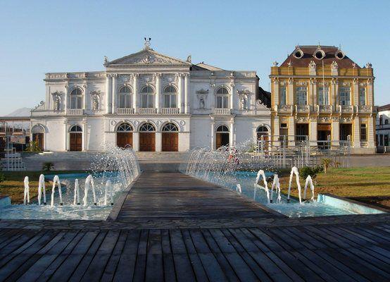 Оперный театр в городе Икике