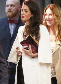 Амаль Клуни беременна 1
