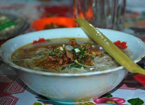 Бирманский суп мохинга