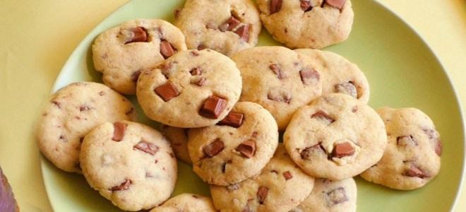 Amerykańskie ciasteczka w kuchence mikrofalowej