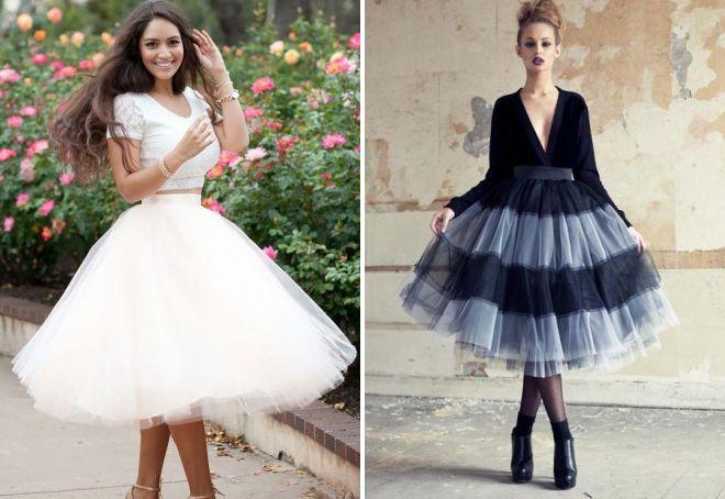 Super nadýchaná americká sukně