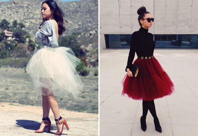 Americká sukně s tím, co má nosit