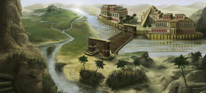 древна цивилизација Месопотамије