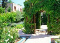 Андалузский сад в Рабате