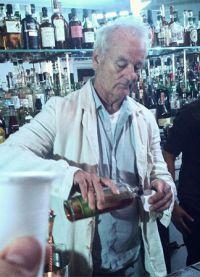 Билл Мюррей в баре 21 Greenpoint