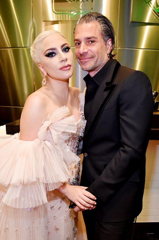 Леди Гага с женихом Кристианом Карино