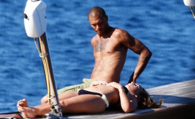 Джереми и Хлоя на яхте в Турции
