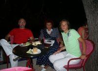 Андреа Пежич в юности с родителями