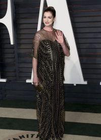 беременная Энн на церемонии Оскар