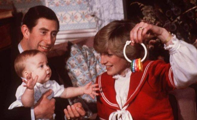 Диана с мужем и сыном