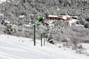 Вид на горнолыжный центр Антильянка