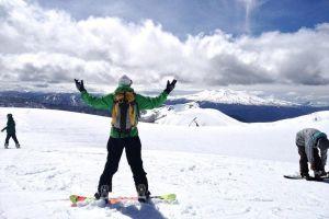 Сноубордист в Антильянка