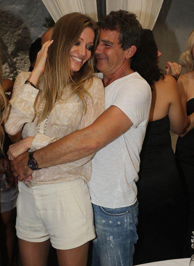 Антонио Бандерас и Николь Кемпел репетируют медовый месяц в Италии