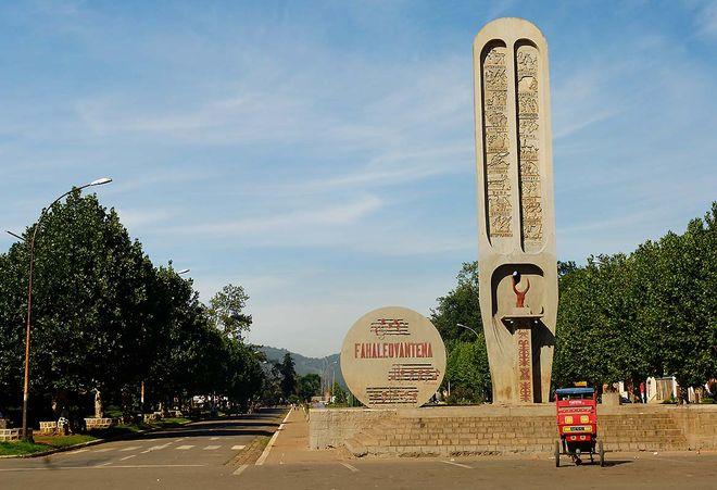 Монумент Независимости в Анцирабе