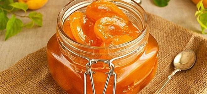 Plátky meruňkových džemů - recept na zimu