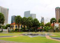 парк в арабском квартале