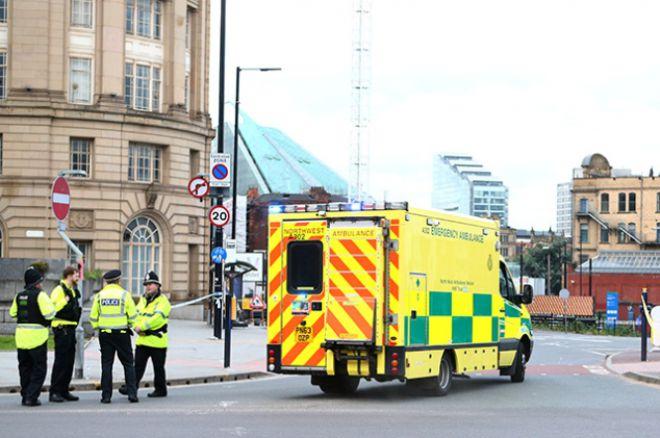 Полиция на месте теракта в Манчестере