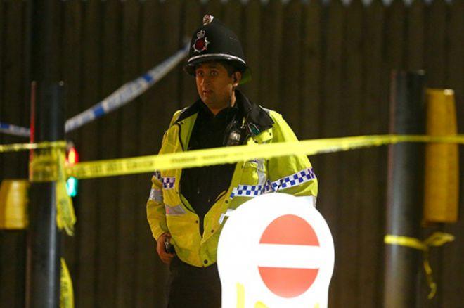 Полиция на стадионе в Манчестере