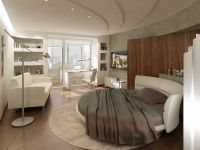 Uspořádání nábytku v jednopokojovém bytě1