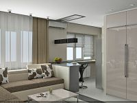 Подреждане на мебели в едностаен апартамент2