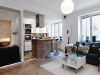 Подреждане на мебели в едностаен апартамент5