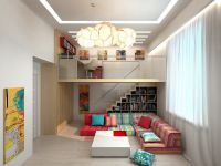 Uspořádání nábytku v jednopokojovém bytě9