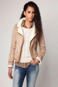Sztuczny płaszcz z owczej skóry 9