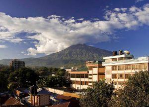 Отель в Аруше с видом на Килиманджаро