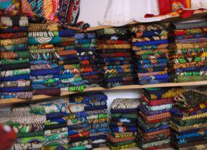 Магазин тканей в городе Аруша