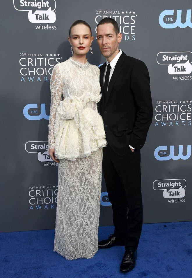 Кейт Босворт с мужем