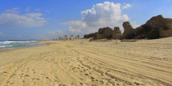 Пляжи Ашдода