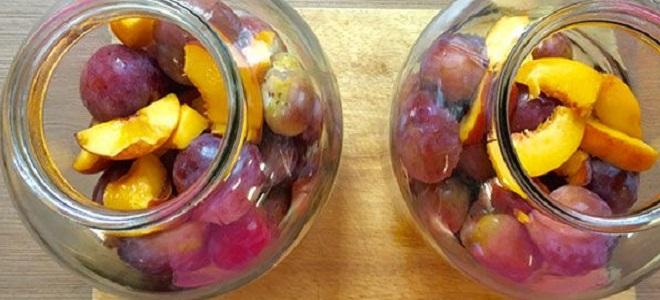 Kompot z bukietem owoców na zimę