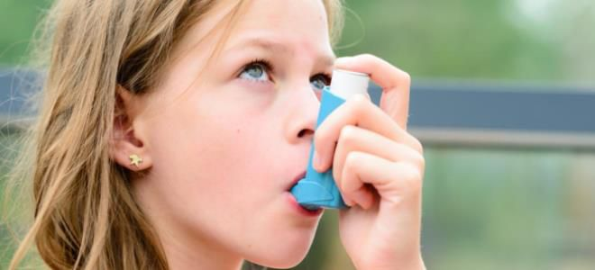 как снять приступ астмы