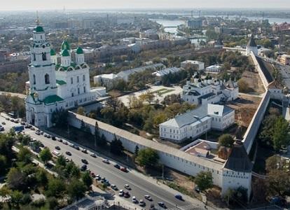 Prohlídka města Astrachaň 1
