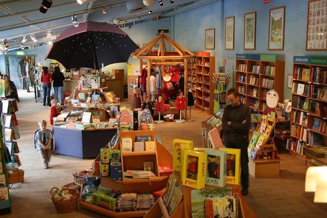 Книжный магазин музея