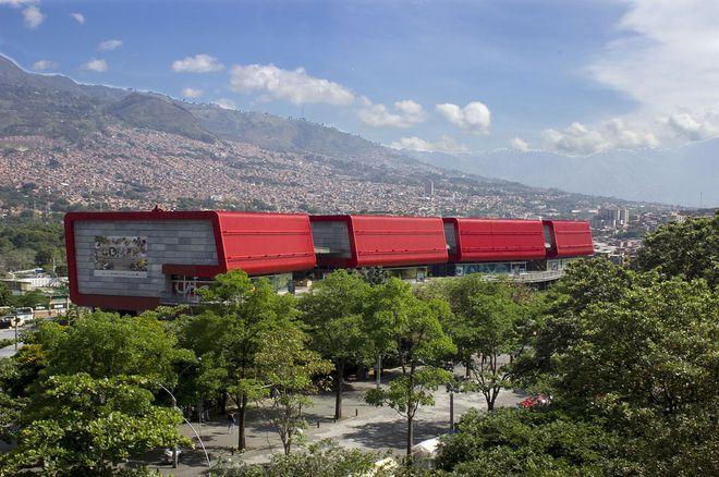 Интерактивный музей Parque Explora, Медельин