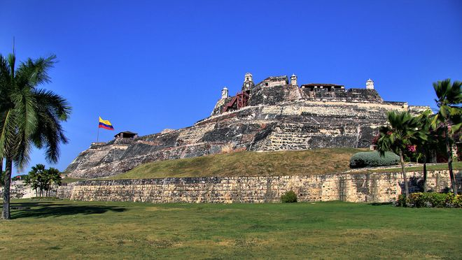 Крепость Сан-Фелипе-де-Барахас, Картахена
