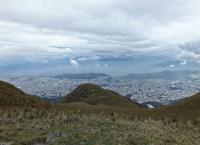 вид со смотровой площадки на холме Крус-Лома