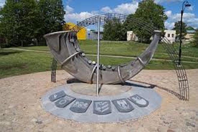 Памятник «Солнечные часы»