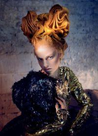 Авангардни стил у фризури 2