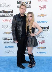 Аврил Лавин и Чад Крюгер на церемонии Billboard Music Awards 2013