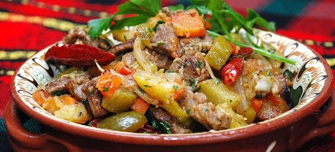 Jak gotować aza w tatarskiej z wieprzowiny