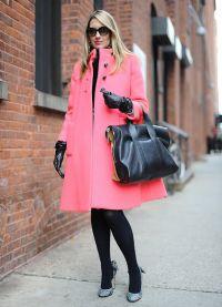 Торба за ружичасту капут 3