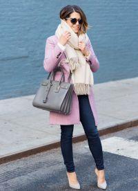 Торба за ружичасту капут 8