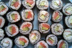 печене ролнице са лососом